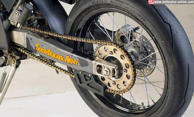 Foto Modif Kawasaki D-Tracker 150 Berbagai Konsep Terbaru 2014  title=