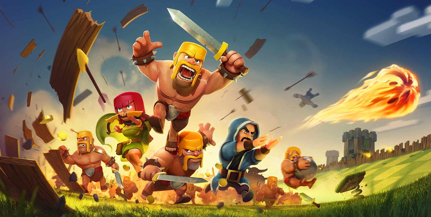 Cara bermain game clash of clans di laptop