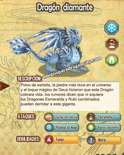 imagen del dragon diamante y sus caracteristicas