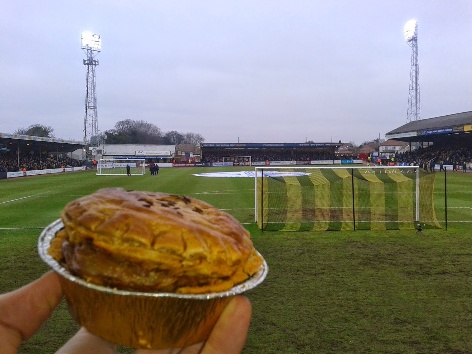 Cambridge United Football Pie