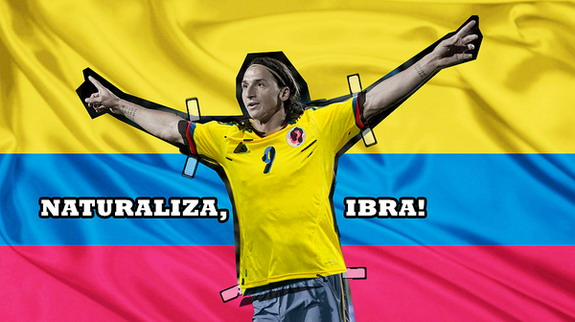 Online campaign launched to replace injured Falcao with World Cup absentee Ibrahimović