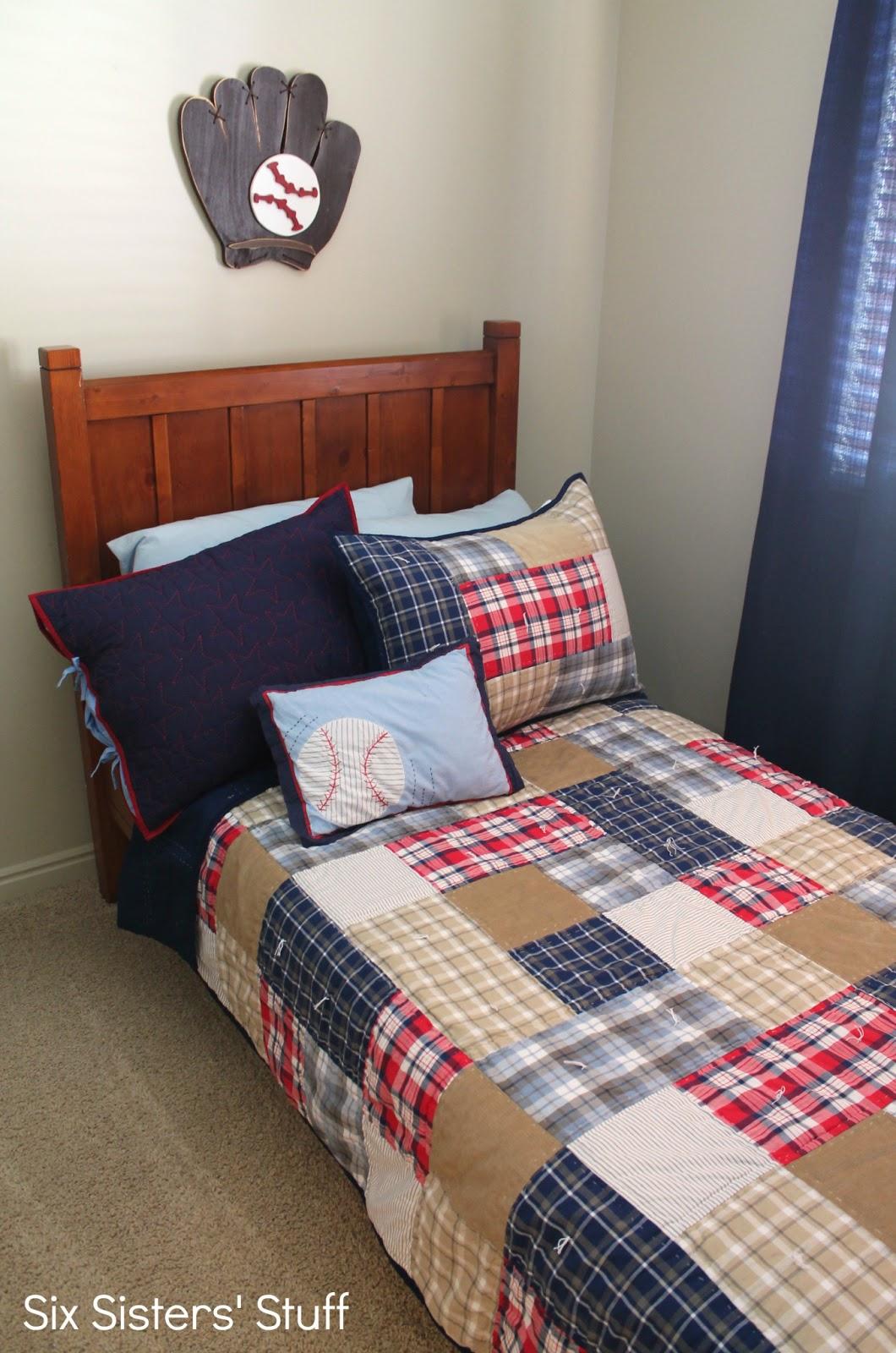 Sams Club Bedroom Furniture Decorating A Boys Bedroom On A Budget Six Sisters Stuff
