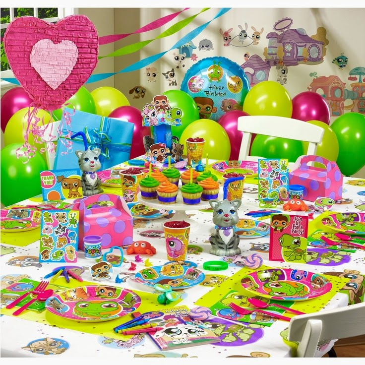 Decoración de Fiestas Infantiles de Littlest Pet Shop