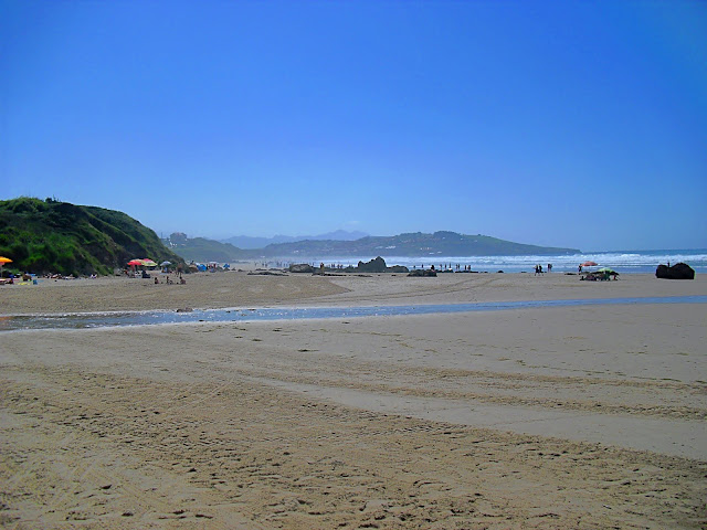 Playa Bederna (Meron) en San Vicente de la Barquera