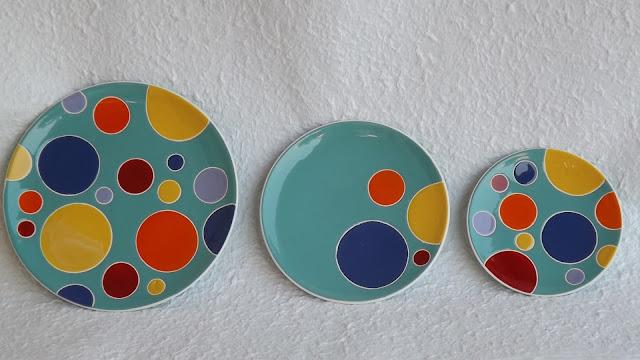ceramica come mestiere piatti da parete moderni