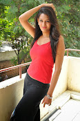 Swetha Jadhav glam pics in red top-thumbnail-10