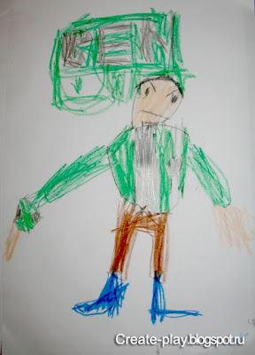 рисунок Бен-10