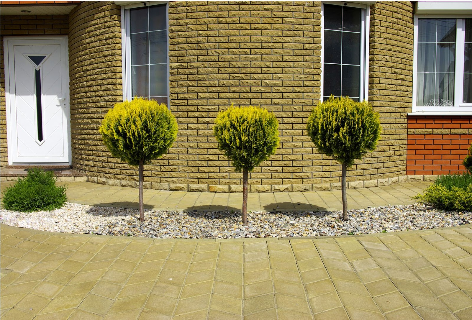 Banco de im genes 9 fotos de jardines dise o exterior for Plantas de jardin exterior