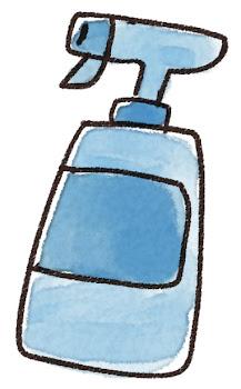 洗剤のイラスト(掃除)
