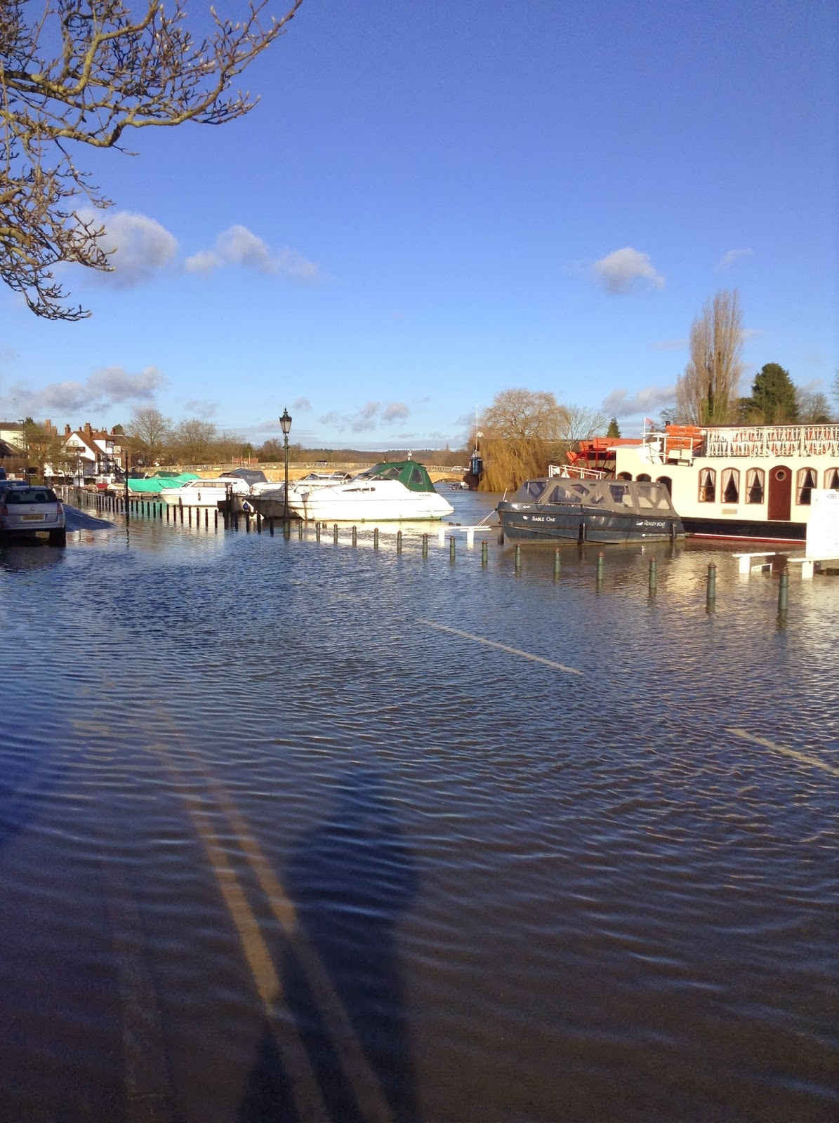 Flooding in Henley-on-Thames, Thameside