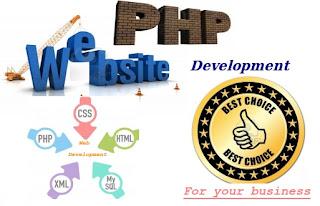 php website development, php web development
