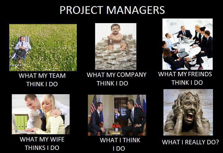 Life of project managers true for Project planning quotes