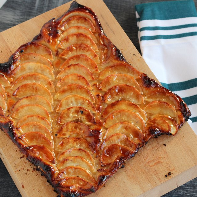 Kid Cultivation French Apple Tart