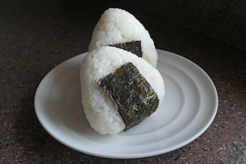 ... of the Blue Apocalypse: Onigiri (Japanese Rice Balls) and Miso Soup