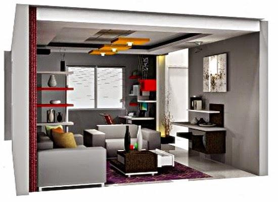 desain interior rumah minimalis type 36 terbaru 2015