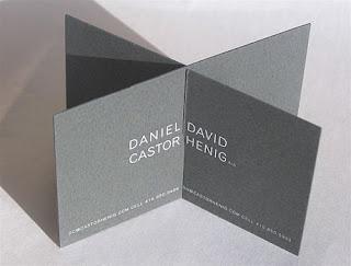 Desain Kreatif Kartu Nama