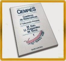 CUADERNILLOS DE MATEMÁTICAS CIEMPIÉS PARA 1º