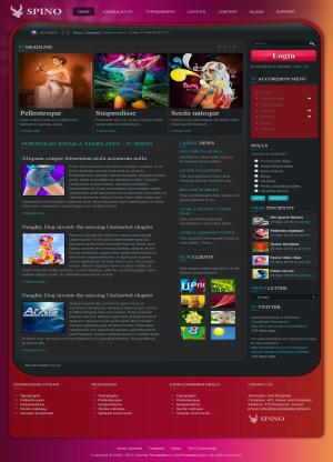 Share template JV Spino - Joomla 1.5