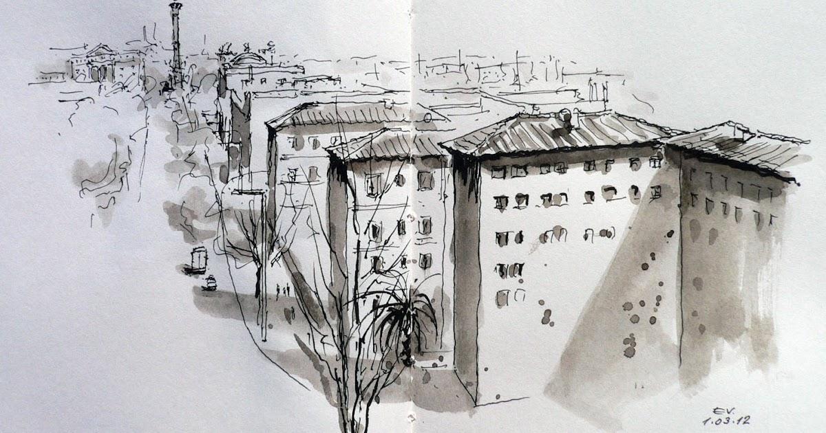 Acuarelis paseo josep carner barcelona - Oficinas de endesa en barcelona ...