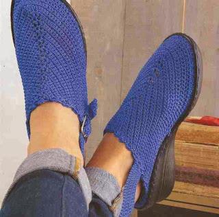 Suecos a Crochet o Ganchillo
