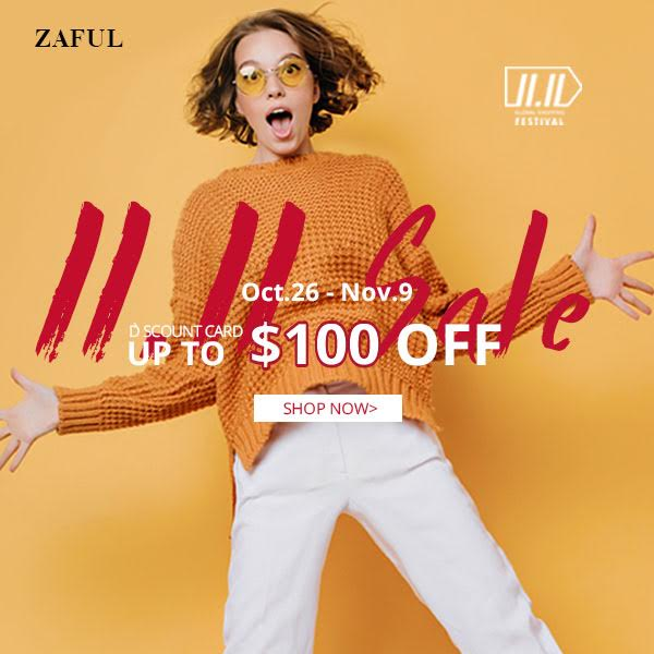 ZAFUL, SHOPPING FESTIVAL