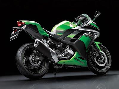 Gambar Motor Kawasaki Ninja 250 SE Hijau