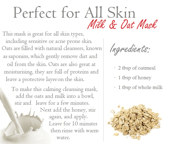 DIY Face Masks for Normal Skin