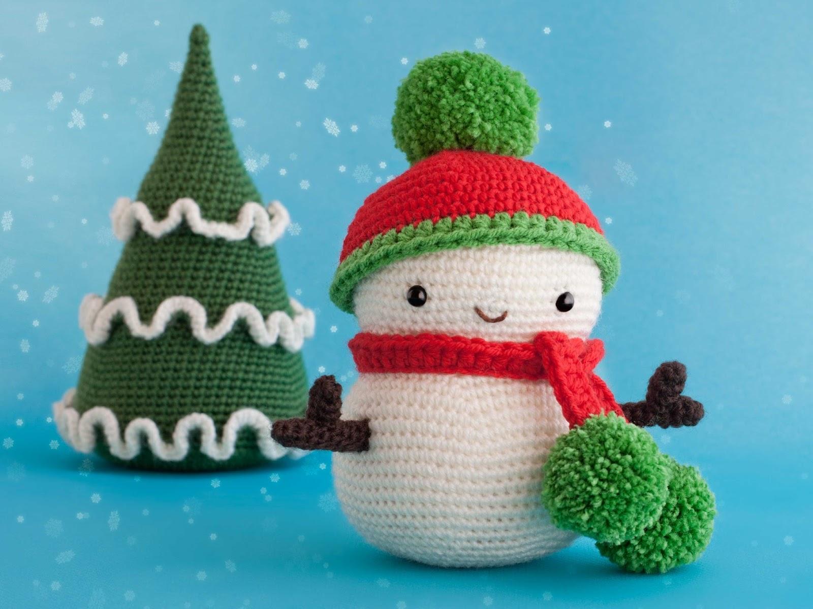 amigurumi-muneco-nieve-snowman