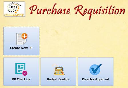 Purchase Requisition (PR)