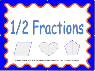math worksheet : sea bearu0027s kindergarten 2 fraction packets 1 2 and 1 4  : Fraction Packet