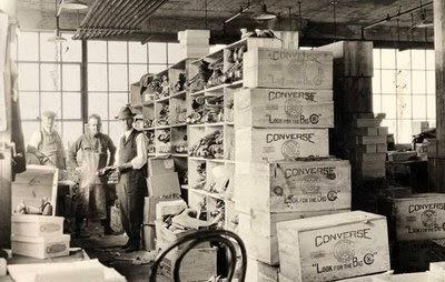 Fabryka Converse, a w zasadzie jej początki.