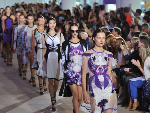 Prabal Gurung catwalk