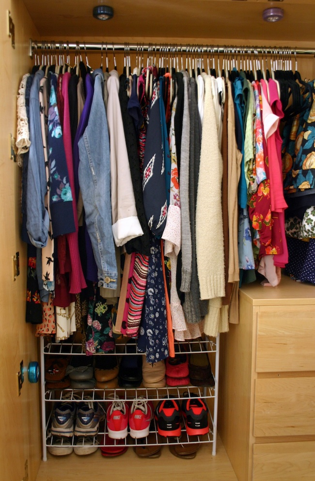 creativity in doses how to organize a dorm closet