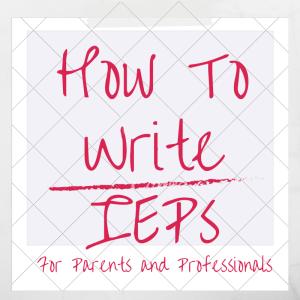 writing iep goals