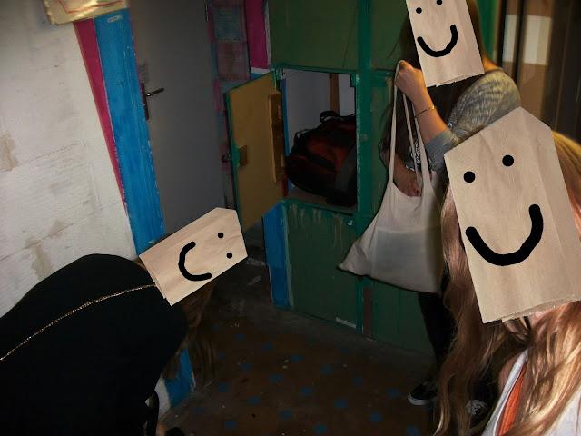 Keller mit den Schließfächern