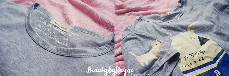Milk Print Grey T-shirt