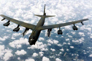 الطائرة قاذفة القنابل  B-52A