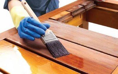 como se hace para barnizar un mueble de madera como se