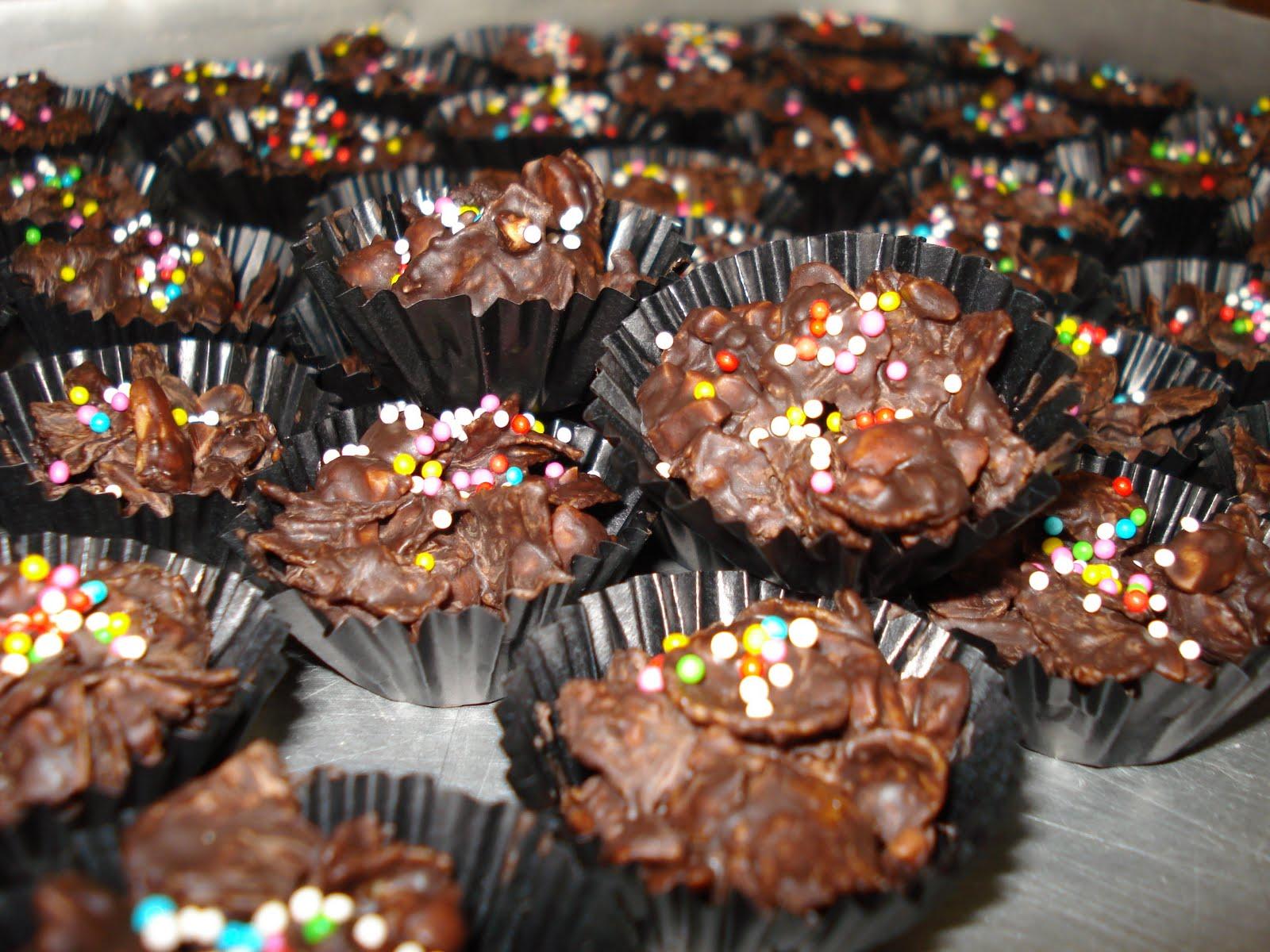 KUIH RAYA PALING BEST-cornflakes madu&coklat!