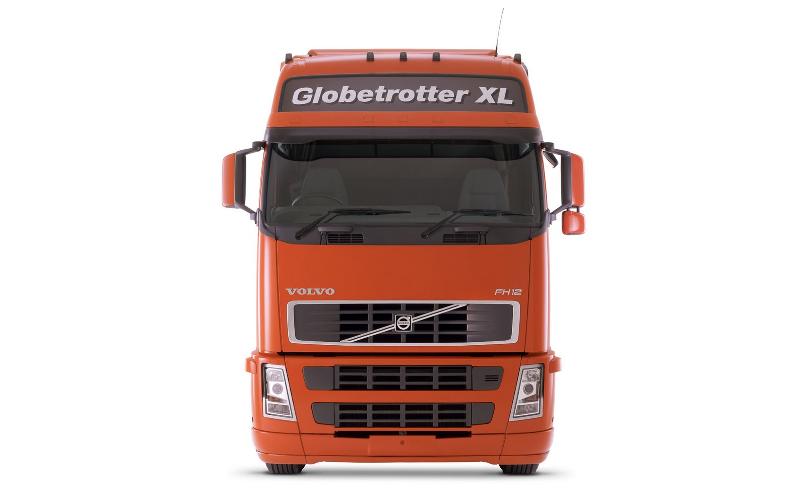 Volvo Truck Wallpapers Orange Globetrotter Xl Picture Red