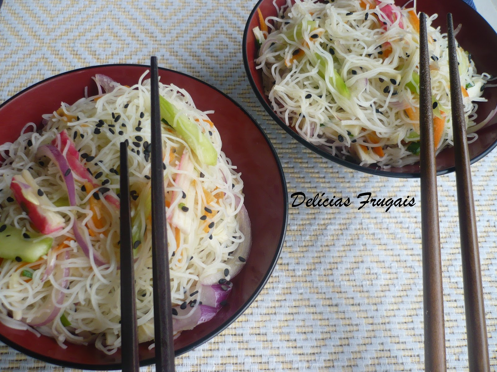 Salada de Bifum - Delícias Frugais