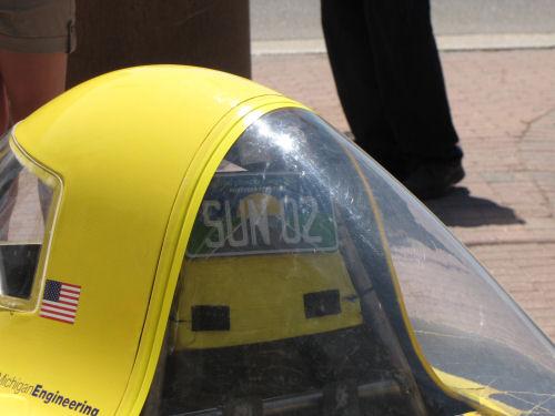 U of M solar car