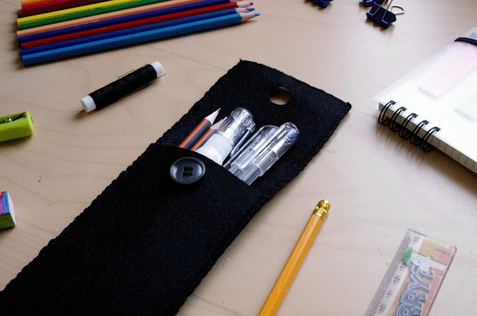 DIY: Pencil case! #BackToSchool