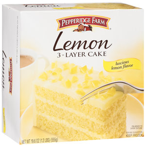 Pepperidge Farm  Layer Lemon Cake