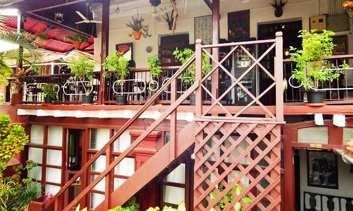 The Verandah Restaurant - Fontainhas - Goa