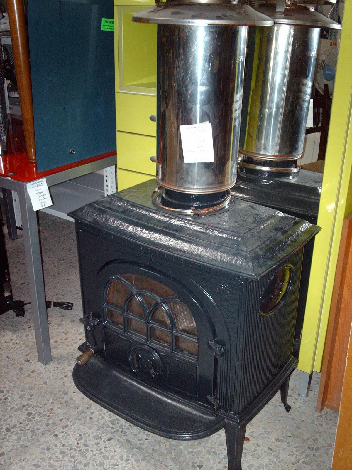 Ocasion deposit estufa de le a hierro fundido - Estufa de hierro ...