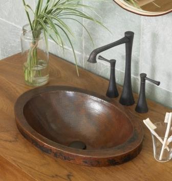 Bathroom copper sinks for making heads turn. Superb Copper Sinks