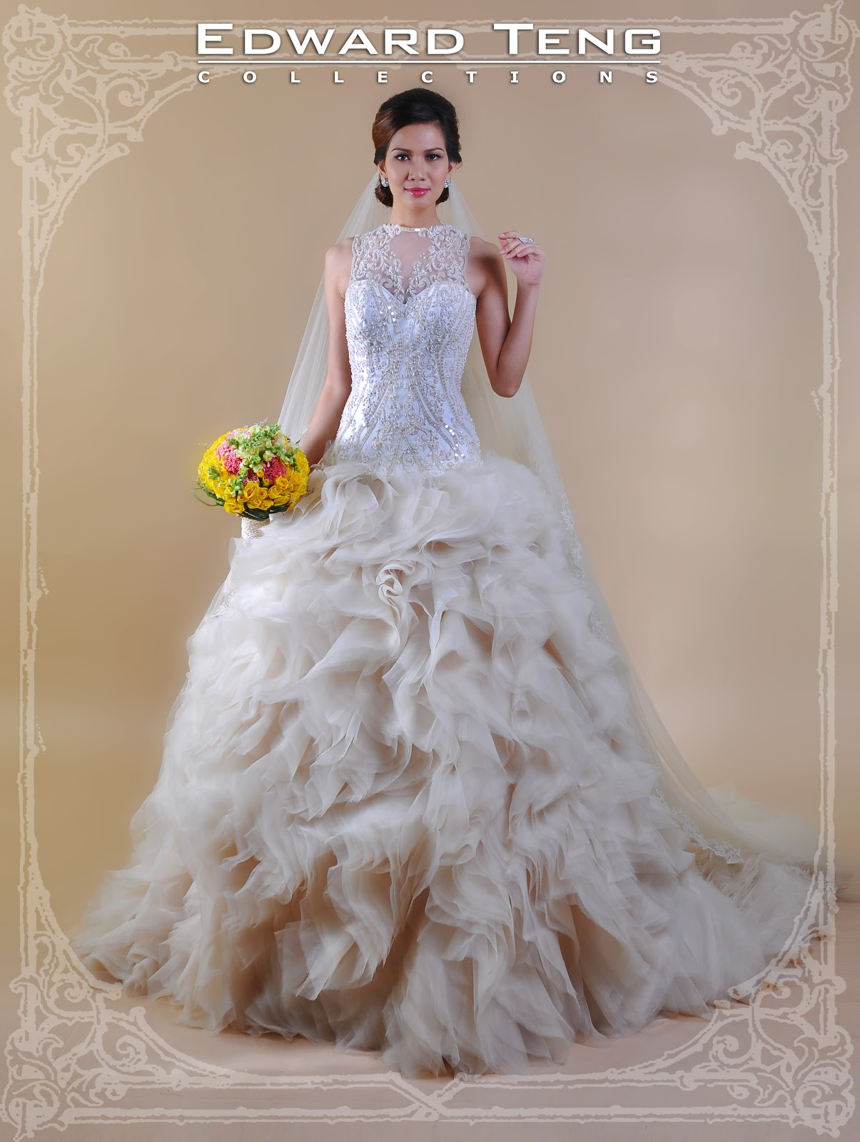 edward teng philippine bridal gowns With wedding dress philippines