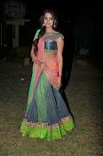 Manasa Glamorous Photos in Half saree-thumbnail-13