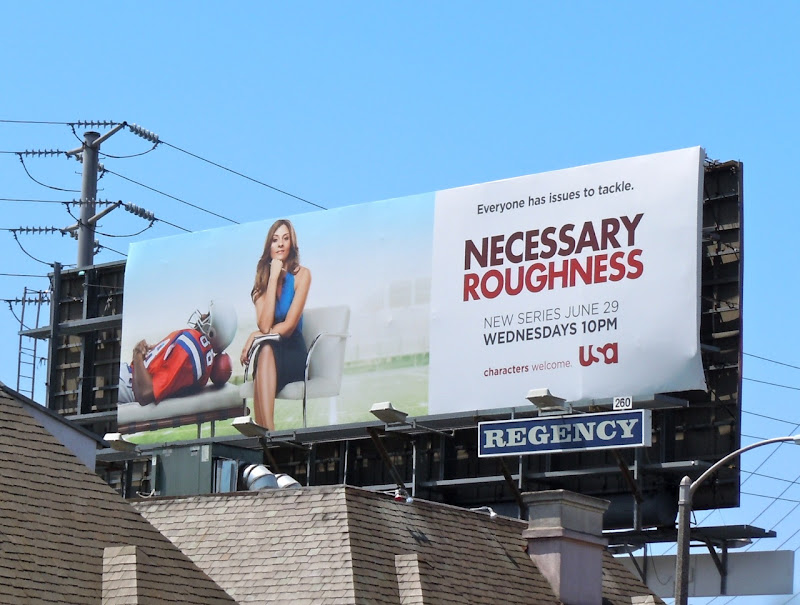 Necessary Roughness season 1 billboard